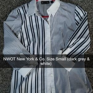 New York & Co. 3/4 sleeve button up